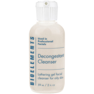 Bioelements Decongestant Cleanser - Lathering Gel Cleanser for Oily Skin 2 oz. (370094)