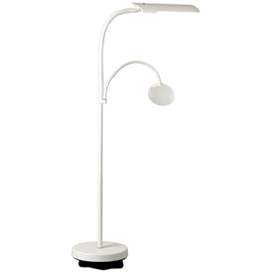 DAYLIGHT Floorstanding Lamp with Magnifier