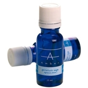 AMBER Essential Oils - Geranium Sage 15ml
