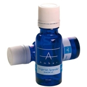 AMBER Essential Oils - Bulgarian Lavender 15ml.