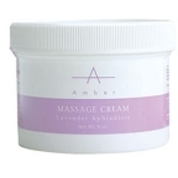 AMBER PRODUCTS Massage Cream Lavender Aphrodisia S