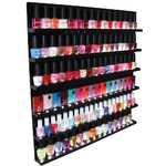 LED Illuminated Nail Polish Wall Display Rack 102 Bottles (402070)