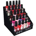 LED Illuminated Nail Polish Counter Display 30 Bottles (402071)