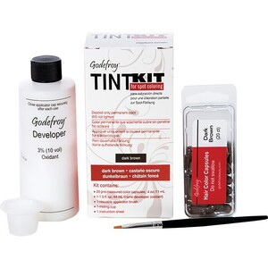 Godefroy Pro Tint Kit - Dark Brown (428017)