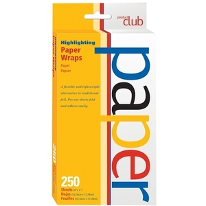 PRODUCT CLUB Highlighting Paper Wraps 250-Count (440009)