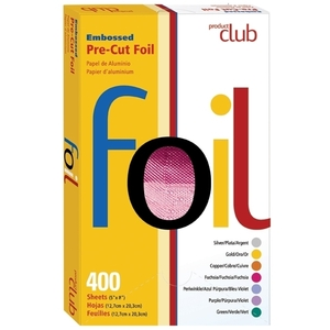 PRODUCT CLUB Fuchsia Embossed Color Pre-Cut Foil