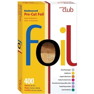 PRODUCT CLUB Copper Embossed Color Pre-Cut Foil
