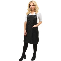 "Bleach-Proof Apron - Black 33""L x 25""W (440534)"