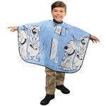 "Kids Styling Cape - Six Button Snap Closure 36""W x 36""L (440549)"