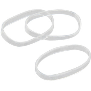 Rubber Bands - Clear 250 Count (440576)