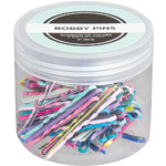 "Bobby Pins - Rainbow of Colors - 2""L 100 Count (441821)"