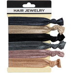 Hair Jewelry Hair Ties - Classics 6 Count (441826)