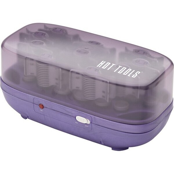 Hairsetter - 20 Flocked Tourmaline Hair Rollers + Travel Case (444731)