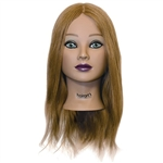 "Mia Manikin Head 100% Human Hair 18"" Hair Length (445969)"