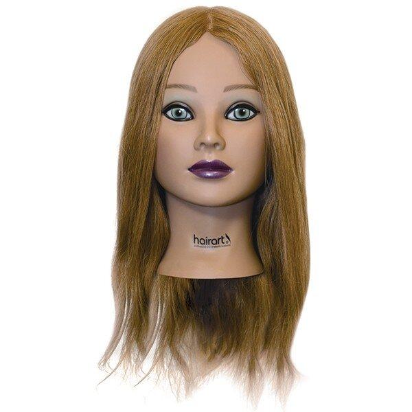 Mia Manikin Head 100% Human Hair 18