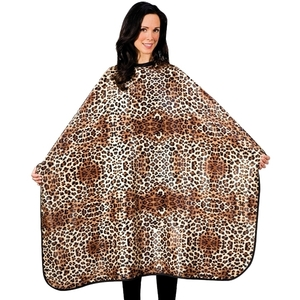 "Betty Dain Leopard Multipurpose Cape 45""W x 60""L (447034)"