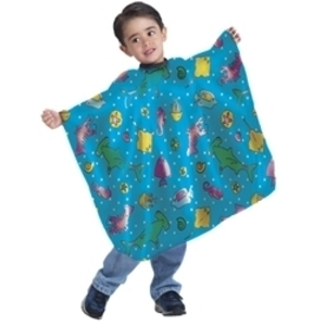 BETTY DAIN Lil' Scoops Design Vinyl Kiddie Cape
