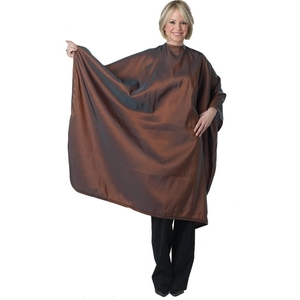 DIAMOND TECHNICAL Extra Large Cutting Cape Silkarah Fabric Bronze (447161)
