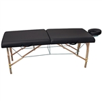 "Premium Massage Table 30"" - Black (490212)"