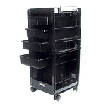 KAYLINE Deluxe Gadabout Lockable Cart