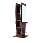 TISPRO Double Styling Station with Mirror Maple