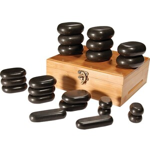 Basalt Massage Stones - 22 Piece Set (491002)