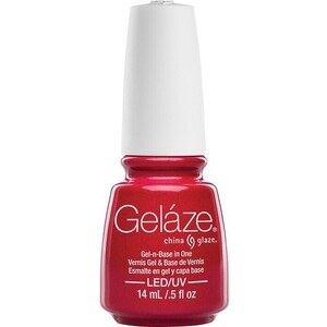 China Glaze Gelaze - Strawberry Fields Gelaze 2-in-1 Gel Polish System - Gel-n-Base In One! (517631)
