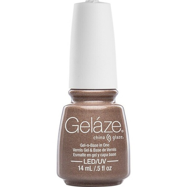 China Glaze Gelaze - Swing Baby Gelaze 2-in-1 Gel Polish System - Gel-n-Base In One! (517635)
