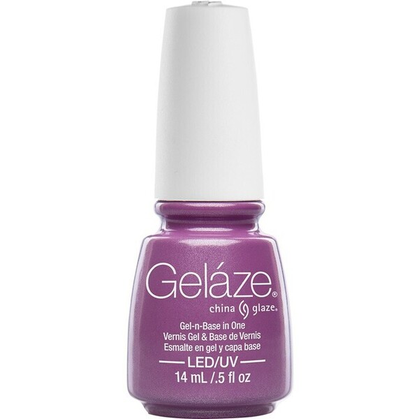 China Glaze Gelaze - Spontaneous Gelaze 2-in-1 Gel Polish System - Gel-n-Base In One! (517637)