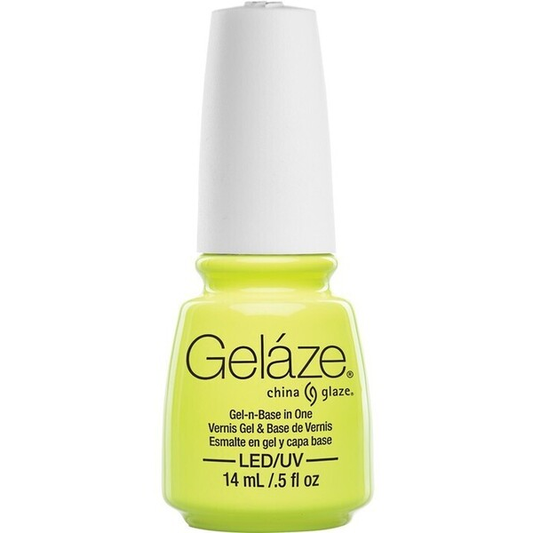 China Glaze Gelaze - Celtic Sun Gelaze 2-in-1 Gel Polish System - Gel-n-Base In One! (517662)