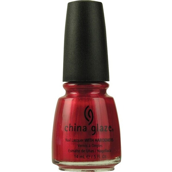 China Glaze Nail Lacquer - Red Pearl (517750)