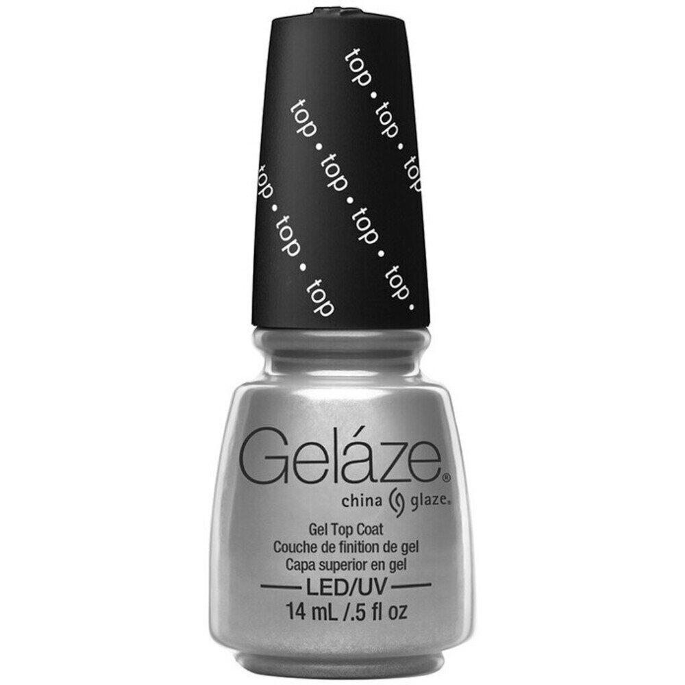 China Glaze Gelaze - Gel Top Coat Gelaze 2-in-1 Gel Polish System ...