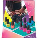 OPI Nail Lacquer - Neon Collection - 12 Piece Nail Lacquer Display (606453)
