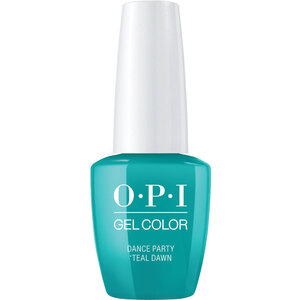 OPI GelColor Soak Off Gel Polish - Neon Collection - Dance Party 'Teal Dawn (606460)