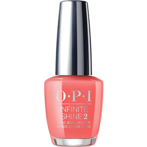 OPI Infinite Shine - Air Dry 10 Day Nail Polish - Neon Collection - Orange You a Rock Star? (606462)