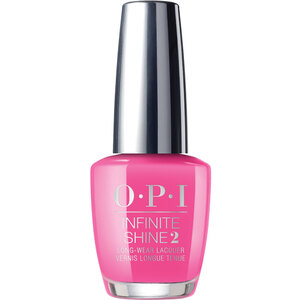 OPI Infinite Shine - Air Dry 10 Day Nail Polish - Neon Collection - V-I-Pink Passes (606463)