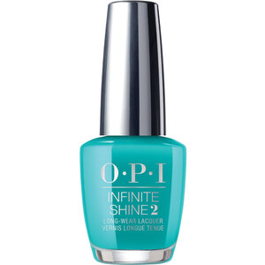 OPI Infinite Shine - Air Dry 10 Day Nail Polish - Neon Collection - Dance Party 'Teal Dawn (606465)