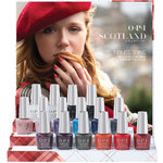 OPI Infinite Shine - Air Dry 10 Day Nail Polish - Scotland Collection - Display - 16 Pieces (606514)
