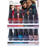 OPI Lacquer - Scotland Collection - Scotland Lacquer Display - 36 Pieces (606517)
