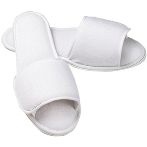 BOCA TERRY Open Toe Slippers 1 Pair (630302)