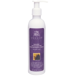 CUCCIO NATURALE Lavender Enviromental Hand Protection Lotion with Zinc Oxide 8 oz. (662158)