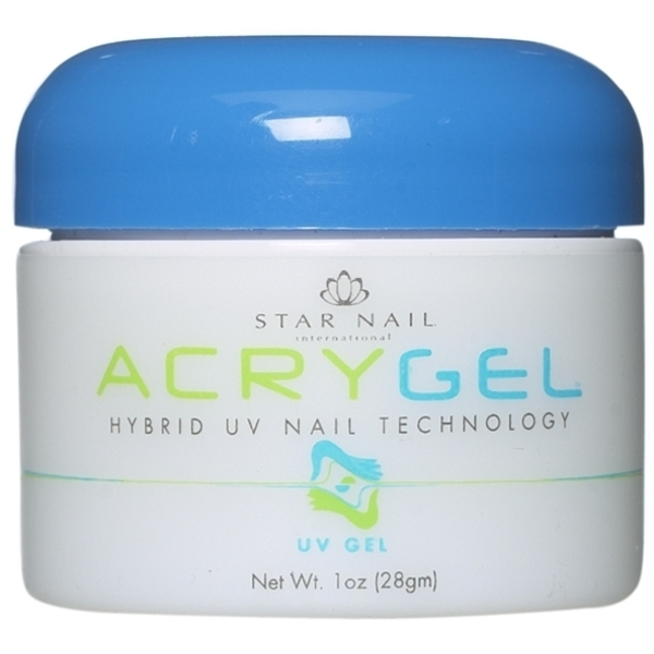STAR NAIL AcryGel UV Gel White 1 oz. (662216)