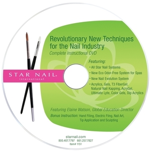 STAR NAIL Complete Instructional DVD (662221)