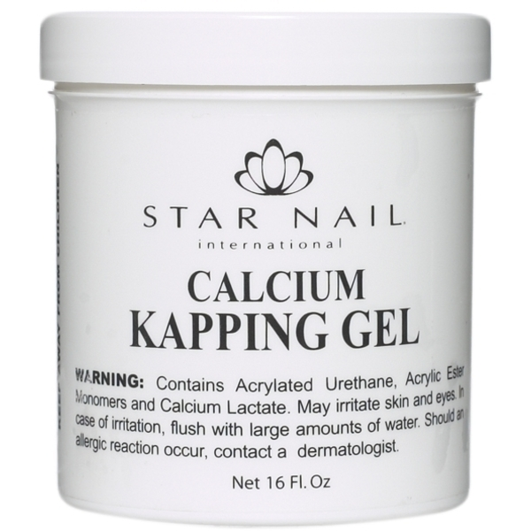 STAR NAIL Calcium Kapping Gel 16 oz. (662224)