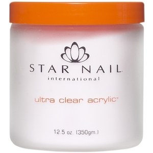 STAR NAIL Ultra Clear Acrylic Powder Clear 16 oz. (662278)