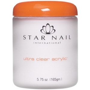 STAR NAIL Ultra Clear Acrylic Powder Natural 8 oz. (662286)