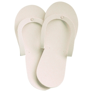 CUCCIO NATURALE Beige Spa Pedicure Slippers 1 Pair (662293)