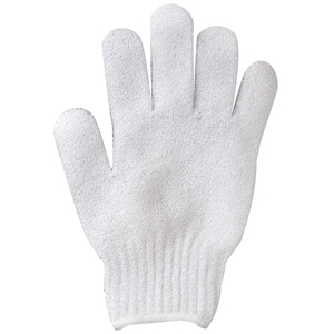 CUCCIO NATURALE White Exfoliating Gloves 1 Pair (662319)