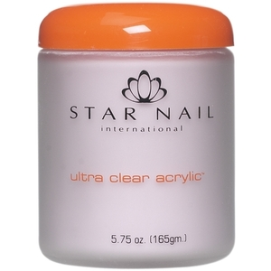 STAR NAIL Ultra Clear Acrylic Powder Extreme Pink 8 oz. (662345)