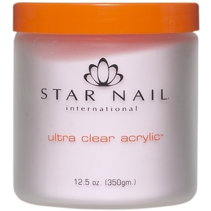 STAR NAIL Ultra Clear Acrylic Powder Extreme Pink 16 oz. (662346)